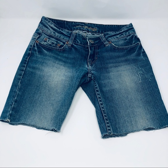 American Eagle Outfitters Pants - American Eagle Cut Off Jean Shorts Stretch Size 2